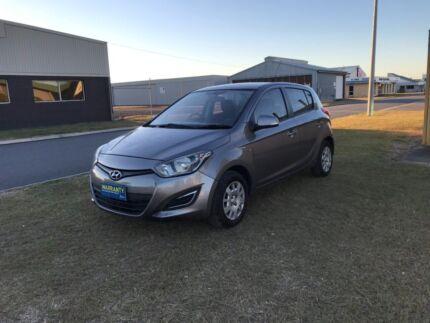 2012 Hyundai i20 Manual 5door (1Year Free Warranty) Archerfield Brisbane South West Preview