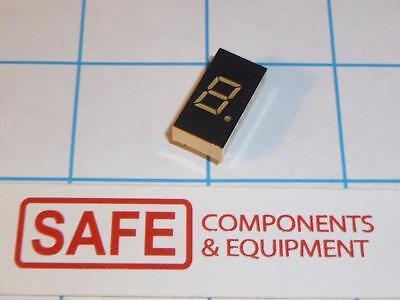Ln513ok Led 7-segment Decimal Orange 1-digit 0.3 Comm Cathode 2.1v 60mw R43-16