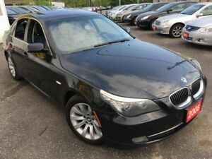 2008 BMW 5 Series 528i/AUTO/LEATHER/SUNROOF/ALLOYS/FULLY LOADED!