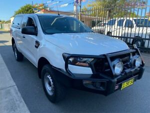 2016 Ford Ranger PX MkII XL 3.2 (4x4) White 6 Speed Manual Super Cab Utility Waratah Newcastle Area Preview