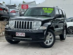 2012 Jeep Cherokee KK MY12 Limited 4x2 Black 4 Speed Automatic Wagon Kedron Brisbane North East Preview