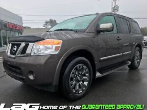 2015 Nissan Armada ARMADA PLATINUM 7 Passenger! Leather! Rear Se