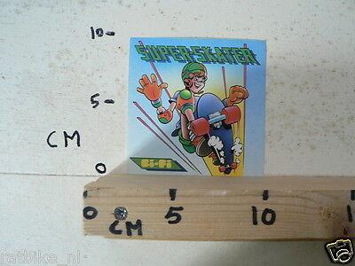 STICKER,DECAL BI-FI SUPER SKATER ROLSCHAATSEN