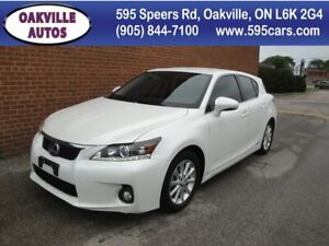 2012 Lexus CT 200h Hybrid/NO ACCIDENT/ SAFETY AND WARRANTY INCLU