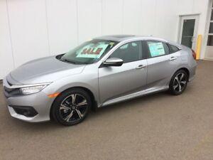 2017 Honda Civic Sedan Touring Finance and Lease Rebates availab