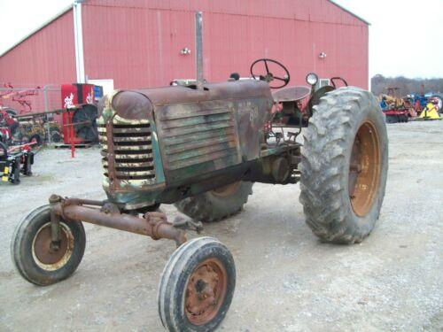 Original Oliver 88 Diesel Tractor , Wide Front , Runs Good