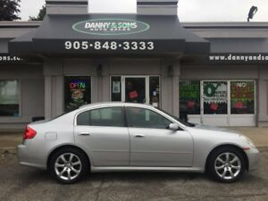 2006 Infiniti G35X Luxury  SNOW TIRES INCLUDED BLACK FRIDAY SALE