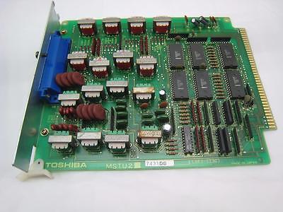 Toshiba Strata Station Circuit Phone System Card Mstu2