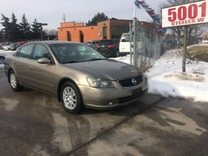 2005 Nissan Altima 2.5S,4CYL,AUTO,SAFETY+3YEARS WARRANTY INCLUDE