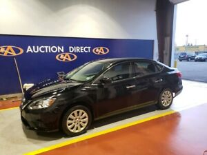 2017 Nissan Sentra 1.8 S NEW TIRES, SV TRIM, 1.8 4 CYL, GOOD...