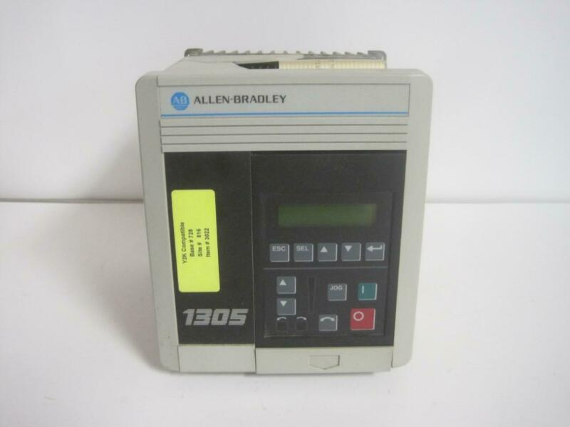 Allen Bradley Variable Speed AC Motor Drive Cat. 1305-BA01A Series 480VAC .5HP