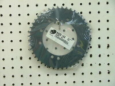 KX60, RM60 44t rear SPROCKET,  black steel