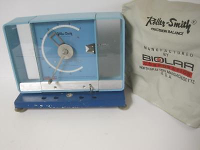 Vintage Roller Smith Precision Balance Model Lg Biolar 500 Mg Milligrams Wcover
