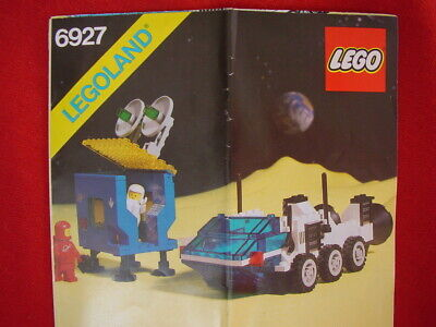 LEGO SPACE 6927 ALL TERRAIN VEHICLE 100% COMPLETE 1981 VINTAGE SET (see my items