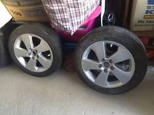 Toyota Aurion 17' stock wheels for sale, fully repaired Box Hill South Whitehorse Area Preview