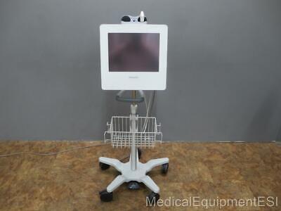 Panasonic Diagnostic Vascular Ultrasound System Gm-72p00a With L13-5v1 Probe