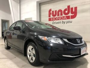 2015 Honda Civic Sedan LX w/backup cam, $127.68 B/W ONE OWNER, N