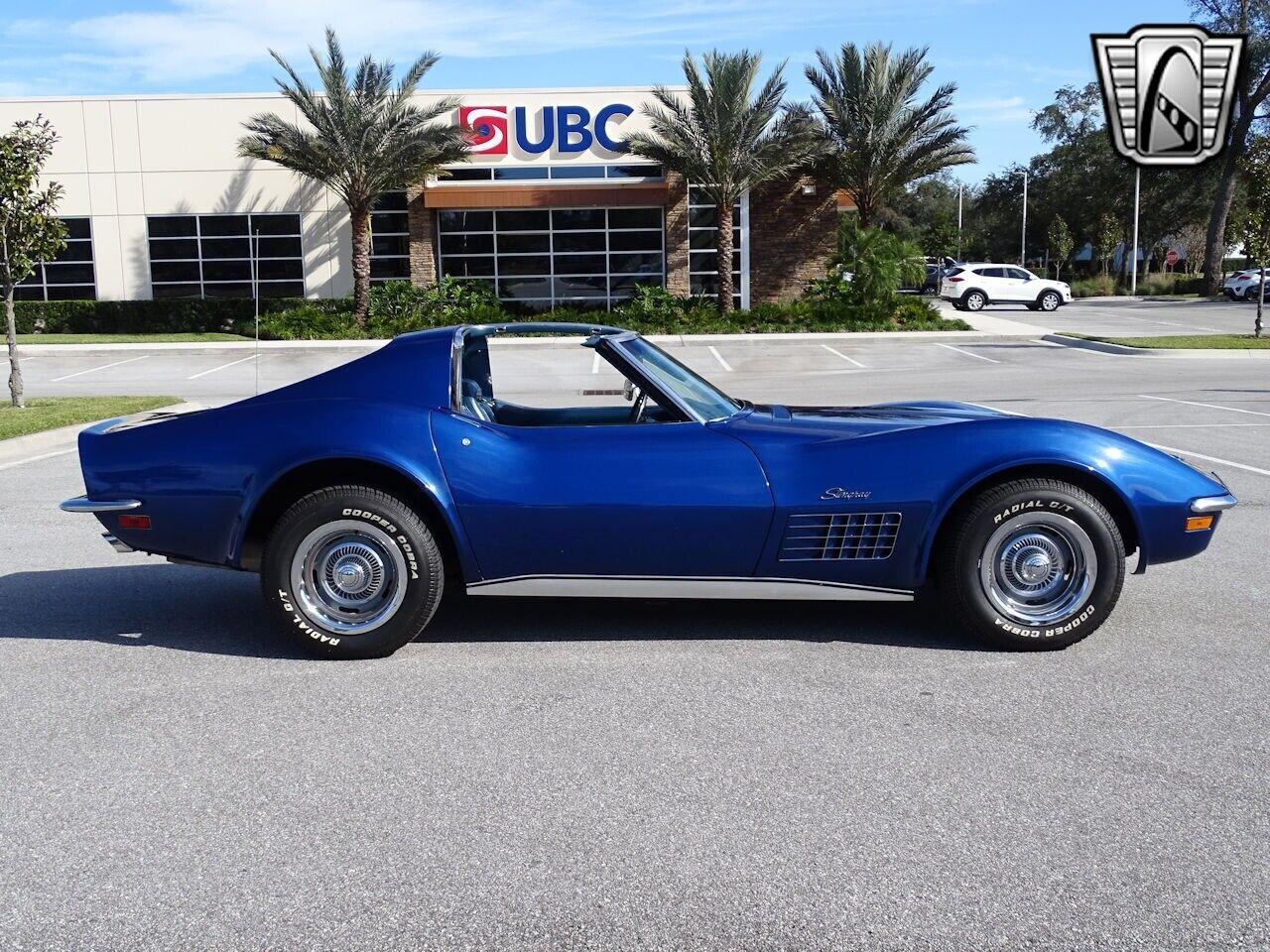 1972 Blue Chevrolet Corvette Stingray  | C3 Corvette Photo 10