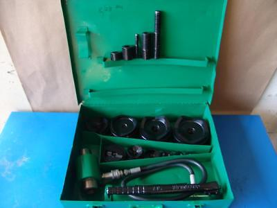 Greenlee 7310 Hydraulic Knockout Punch And Die Set 12 To 4  831 4