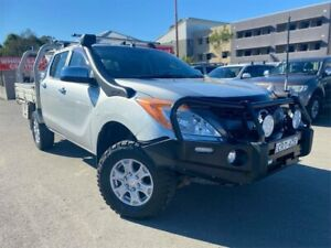 2013 Mazda BT-50 MY13 XT (4x4) Silver 6 Speed Automatic Dual Cab Utility Edgeworth Lake Macquarie Area Preview