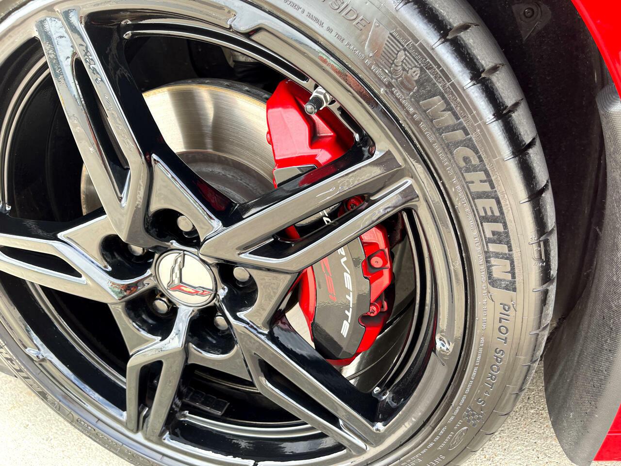 2020 Red Chevrolet Corvette Coupe 1LT | C7 Corvette Photo 9