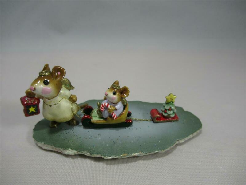 Wee Forest Folk Lighting the Way - Darling Tiny Mice - WFF Box