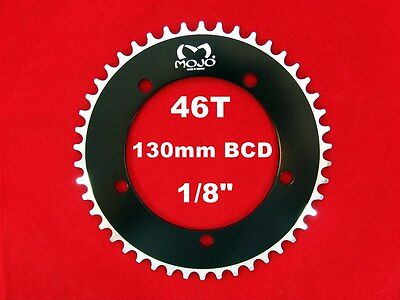 """SILVER MOJO Fixed Gear Chainring 48T 144 BCD Track Fixie single speed 1//8/"""""""