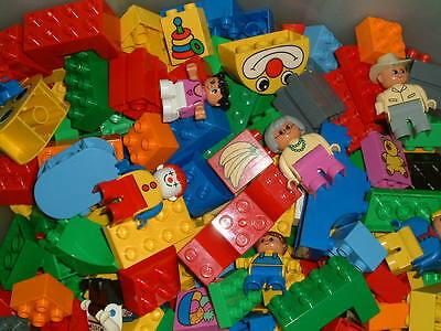 LEGO DUPLO - STARTERSET - 50 Teile - Bausteine + Sondersteine + Figur +