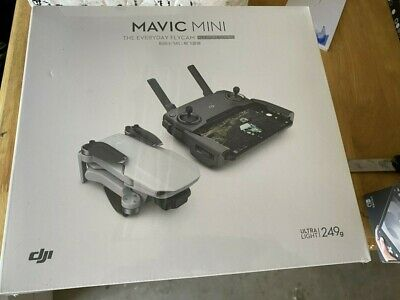 DJI CP.MA.00000123.01 Mavic Mini Fly More Combo Drone - Gray  Sealed