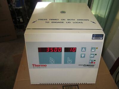 Baxter  Clinifuge Heraeus Tabletop centrifuge 12 place rotor