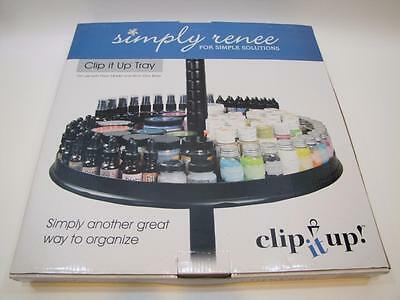 NIB Get Organized! Simply Renee CLIP IT UP Tray