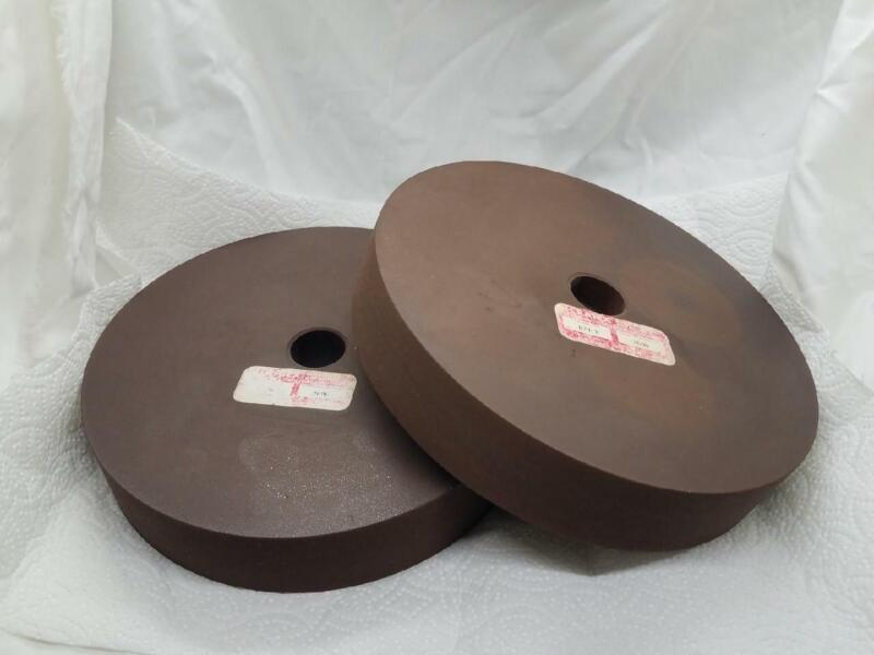 "Cratex 8"" x 1-1/2"" x 1"" Bonded Rubberized Fine Wheel 824-F"