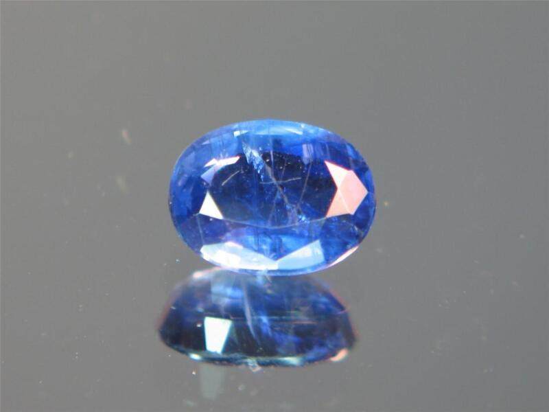 2.43CT RARE STUNNING NATURAL UNTREATED SUPER ROYAL BLUE FACETED NAPAL KYANITE