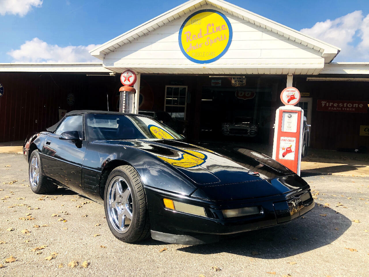 1991 Black Chevrolet Corvette Convertible  | C4 Corvette Photo 2