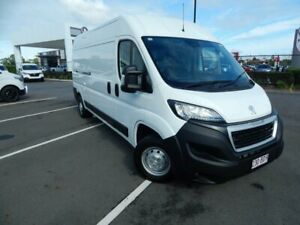 2020 Peugeot Boxer X250 MY20 160 Mid Roof LWB HDi White 6 Speed Manual Van North Lakes Pine Rivers Area Preview