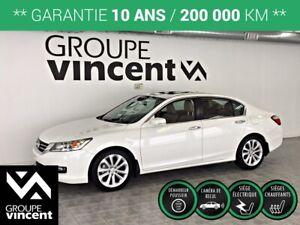 2015 Honda Accord TOURING GPS CUIR TOIT **GARANTIE 10 ANS**