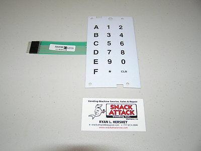 Dixie Narco Bev Max 4 5800 Selection Key Pad Free Shipping