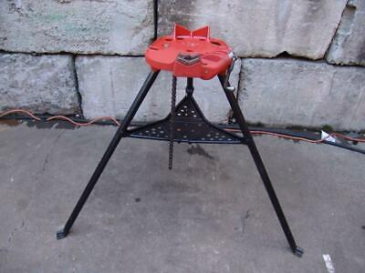 Ridgid 460 Chain Tripod Pipe Vise 18 To 6 Threader 300 700 Nice Shape 1