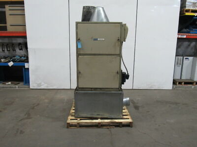 Dce Vokes 2hp Unimaster Dust Collection Unit Dust Collector 230460v 3 Phase