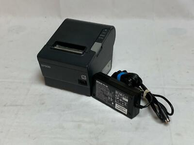 Epson Tm-t88v M224a Point Of Sale Thermal Printer Power Cables