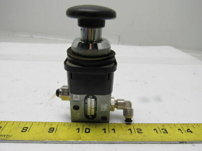 Rexroth 5630201220 Pneumatic 32 Palm Button Actuated Valve Lot Of 3