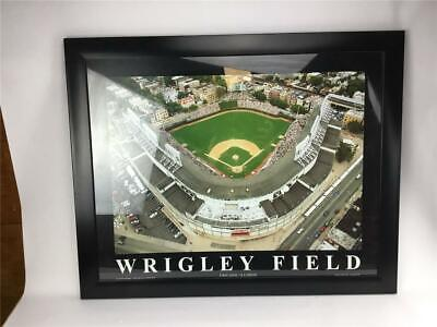 Wrigley Field Stadium Color Framed Picture 30 3/4