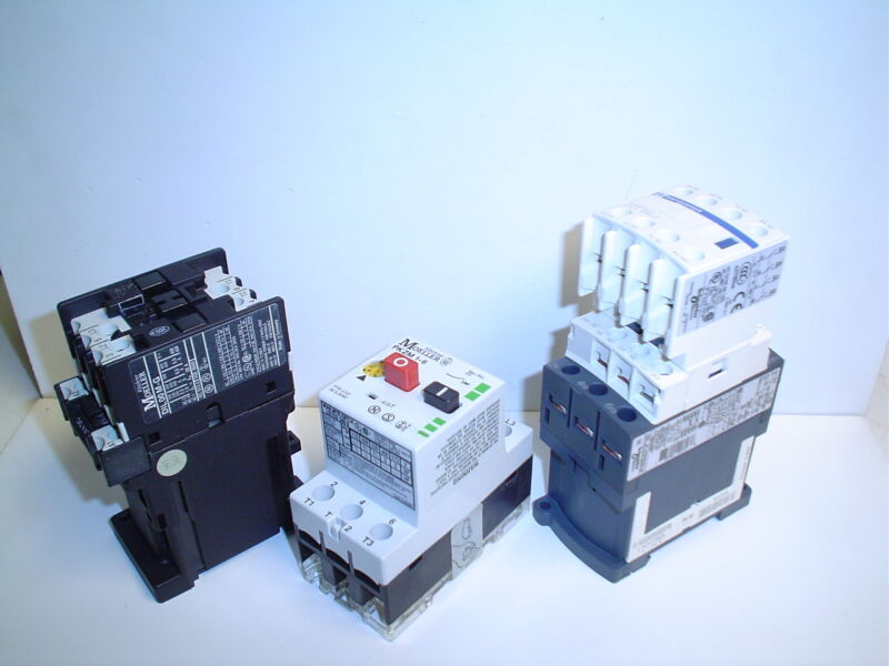 Moeller  Telemacanique Schneider Electric Contactors Set of 3