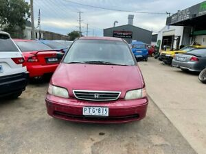 1999 Honda Odyssey (7 Seat) Red 4 Speed Automatic Wagon Werribee Wyndham Area Preview