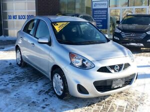 2015 Nissan Micra S S HATCHBACK AUTO! ONE OWNER, NO ACCIDENTS!