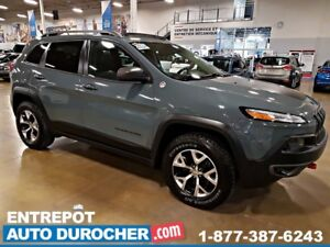 2015 Jeep Cherokee Trailhawk 4X4 - NAVIGATION - TOIT OUVRANT - C