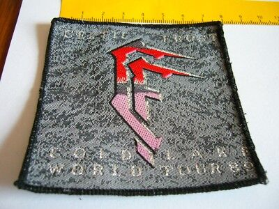 CELTIC FROST – very rare old original 80s COLD LAKE WORLD TOUR 89 Patch!!!