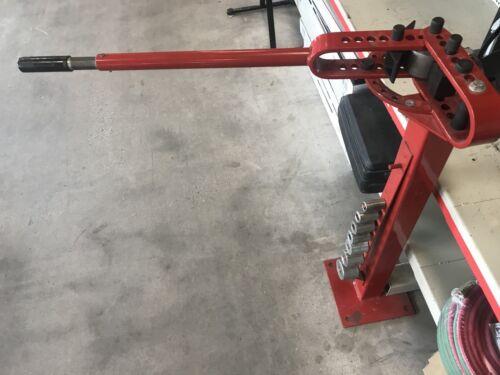 FLOOR Mount Pedestal Metal Fabrication BENDER Tool ROUND SQUARE ROD Parts