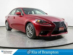 2015 Lexus IS 250 PREMIUM PKG! ONE OWNER! LEATHER ROOF LOADED!