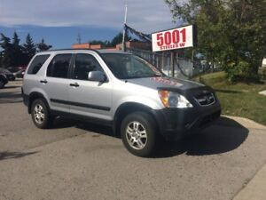2004 Honda CR-V AUTO,AWD,SAFETY+YEARS WARRANTY INCLUDED